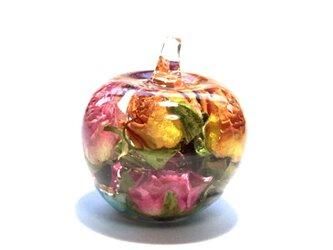 お守りりんごちゃん 希望 オルゴナイトの画像