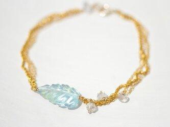 Bluetopaz×Herkimer diamond *Braceletの画像