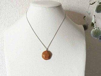 ケヤキの木の ネックレス シルバーの画像