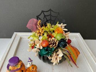 """Halloween """"pumpkin arrange""""の画像"""