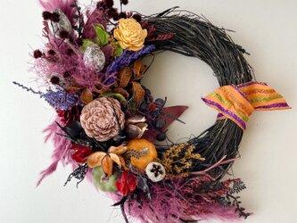 Autumn natural wreath VIの画像