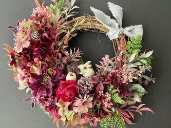 Autumn wreath II Cosmosの画像