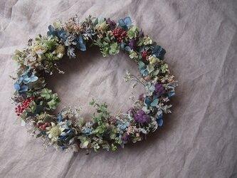 夢見る花たち*オーバルリースの画像