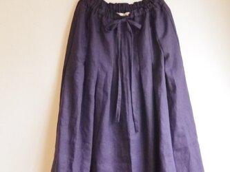 【かいかなえ様オーダー】リネンリボンスカートの画像