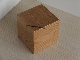 貯金箱(タモ)の画像