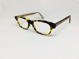 鼈甲柄の味のあるメガネ(メガネフレーム)の画像