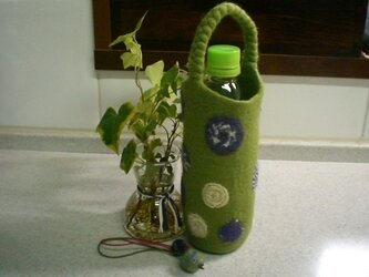 ボトルホルダー (若草色)の画像
