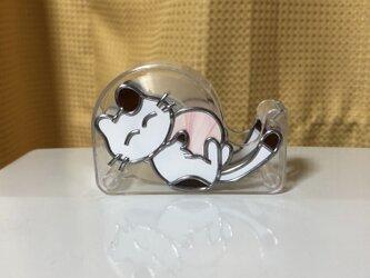 ミニテープカッター(ネコちゃん)の画像
