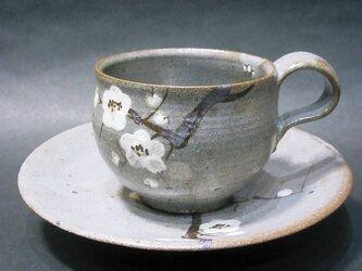 コーヒーカップ(梅)の画像
