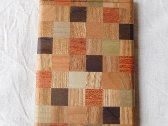 寄木のカードケース①の画像