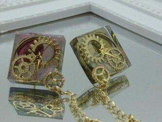 《送料無料》magical color gear/ピアス イヤリング ノンホールピアス 樹脂の画像