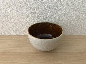 飴釉と唐津釉のぐい呑の画像