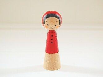 [conocokeshi]指人形・hand puppet[1]赤ずきんの画像
