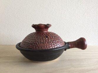 片手土鍋 【直火対応】の画像