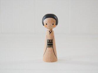 [conocokeshi]指人形・hand puppet[4]着物の画像