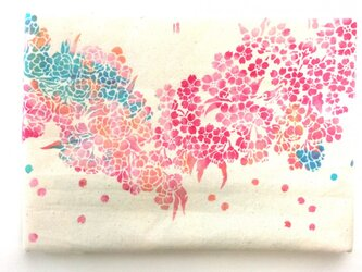 「桜舞う」スケジュール手帳の画像