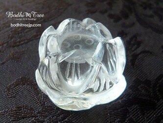 水晶ロータス(台座)の画像