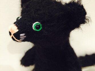 シャトン・トリュフ 子猫のぬいぐるみ 黒猫 ハロウィン Halloweenの画像