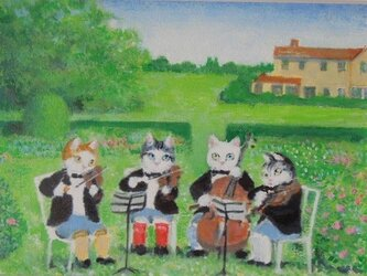 かわいい音楽家の画像