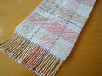 手織り  やわらかストールの画像