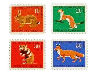 ドイツシリーズ切手(動物)Germany DA-STE078の画像