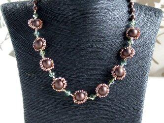 ショコラグラニテのネックレスの画像