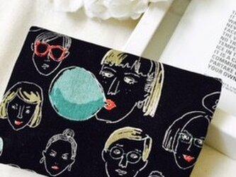 オトナのティッシュケース ファニーフェイスの画像