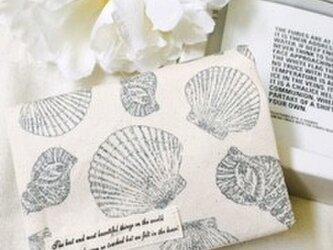 オトナのティッシュケース 貝殻の画像