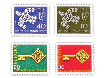ドイツ切手(鳩と鍵)Germany DA-STE084の画像