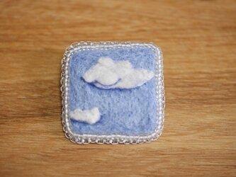 雲 ブローチ・クリアの画像