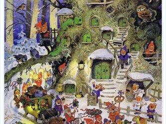 ドイツ製 アドベントカレンダー Fritz Baumgarten[29.5×39]DA-AD003の画像