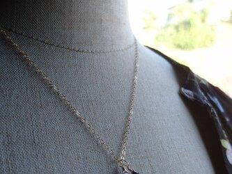 ピンクアメジストのネックレス【14kgf】の画像