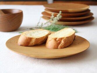 山桜のお皿(φ210)パン皿の画像