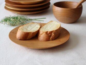 山桜のお皿(φ185)パン皿の画像