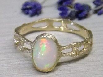 opal*K14lunapinkgold laceringの画像