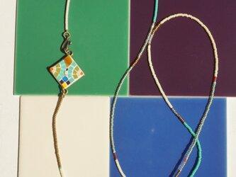 Pendant of mosaic / symmetry  モザイクのペンダント/シンメトリーの画像