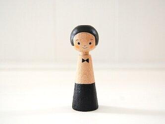 [conocokeshi]指人形・hand puppet[8]*cafe*ボーイの画像