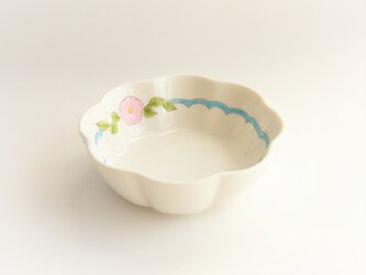 ピンクのお花の花小鉢の画像