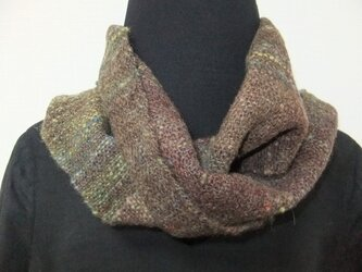 手紬ぎ手織りマフラー #3の画像
