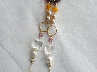バタフライ・トップのネックレス  の画像
