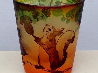 秋の実りグラスの画像
