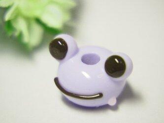 かえるのとんぼ玉 藤紫色の画像