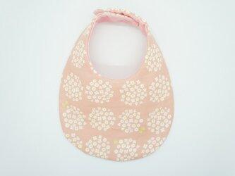 《ふんわり撥水スタイ》小花のブーケ・ピンクの画像