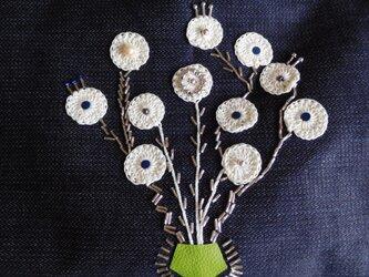 手芸の花 軽量デニムの画像