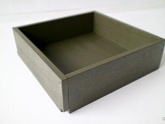 木箱 Plywood box 3 -オリーブ-の画像