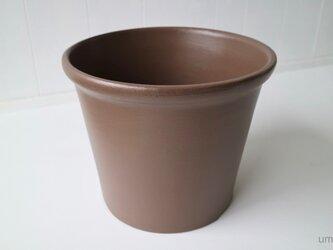 テラコッタ 鉢 -アンバー 10号-の画像