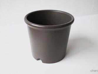 テラコッタ 鉢 -チャコール 8号-の画像