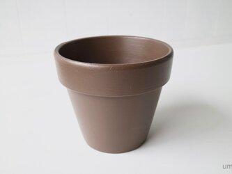 テラコッタ 鉢 -アンバー 6号-の画像