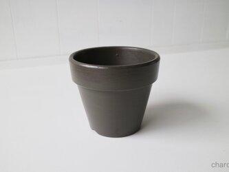 テラコッタ 鉢 -チャコール 5号-の画像