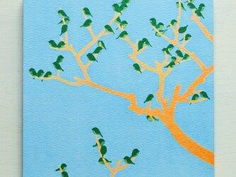 アートパネルNo.68「美の定義(木×鳥)」の画像